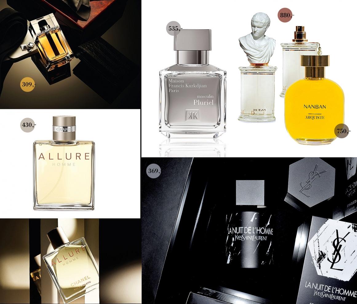 Perfumy męskie, zapachy męskie na prezent, prezenty świąteczne