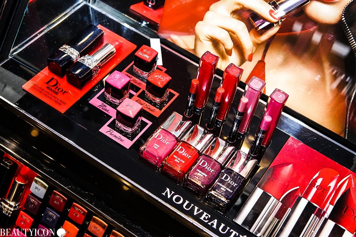 Makijaż Dior Jesień, Makijaż Dior Zima, Dior Poison Matte, Rouge Dior, Krzysztof Nadziejewiec, Sephora Trend Report Jesień 2016