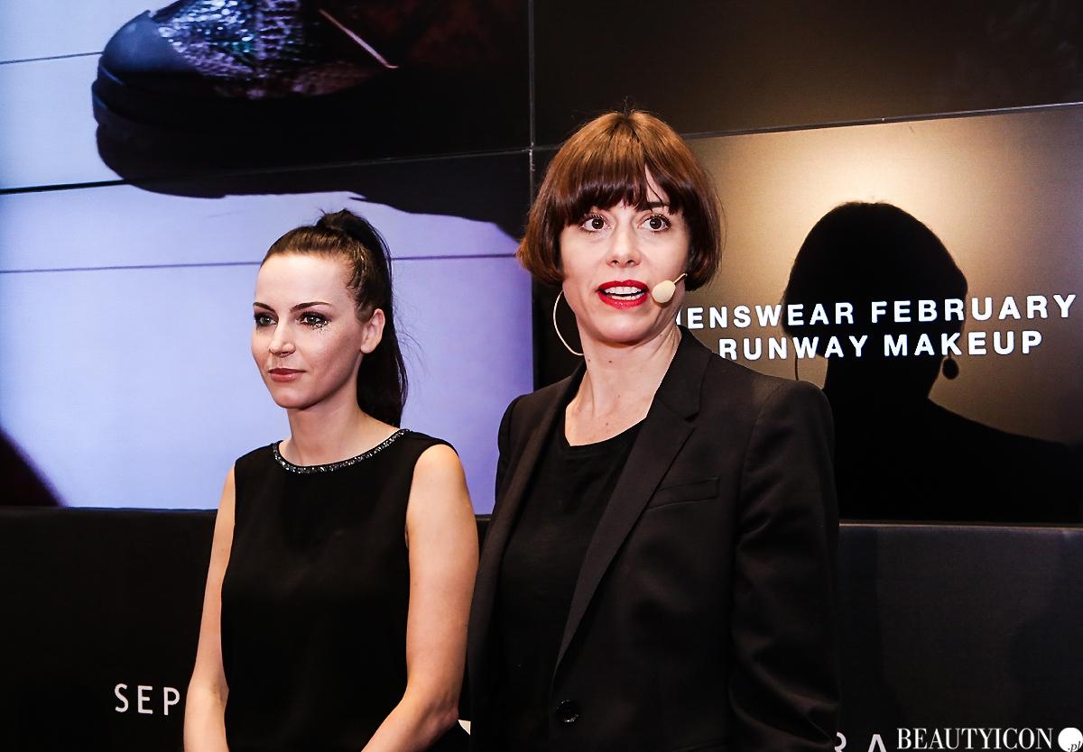 Sephora Trend Report Jesień 2016, Burberry Wendy Romwe, makijaż Burberry, kosmetyki Burberry