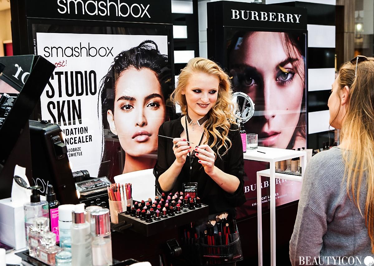 Sephora Trend Report Jesień 2016, makijaż Smashbox, kosmetyki Smashbox