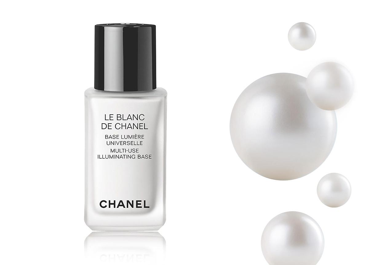 Baza rozświetlająca, Chanel Le Blanc, baza pod makijaż