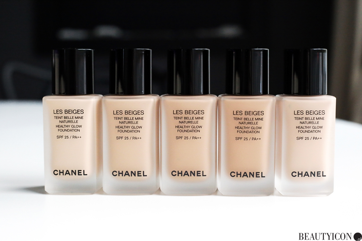 Chanel Les Beiges Healthy Glow Foundation, podkład Chanel, podkład Chanel Les Beiges