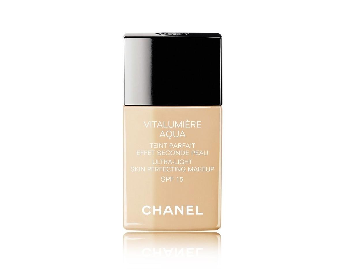 Podkład Chanel, Chanel Vitalumiere Aqua, lekki podkład Chanel