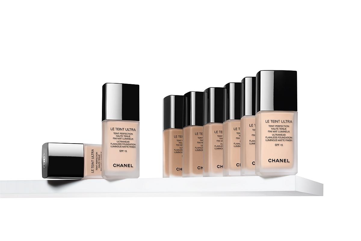 Podkład Chanel, Chanel Le Teint Ultra, długotrwały podkład
