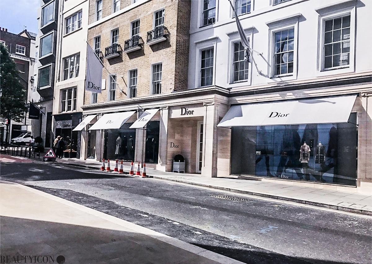 butik dior bond street london