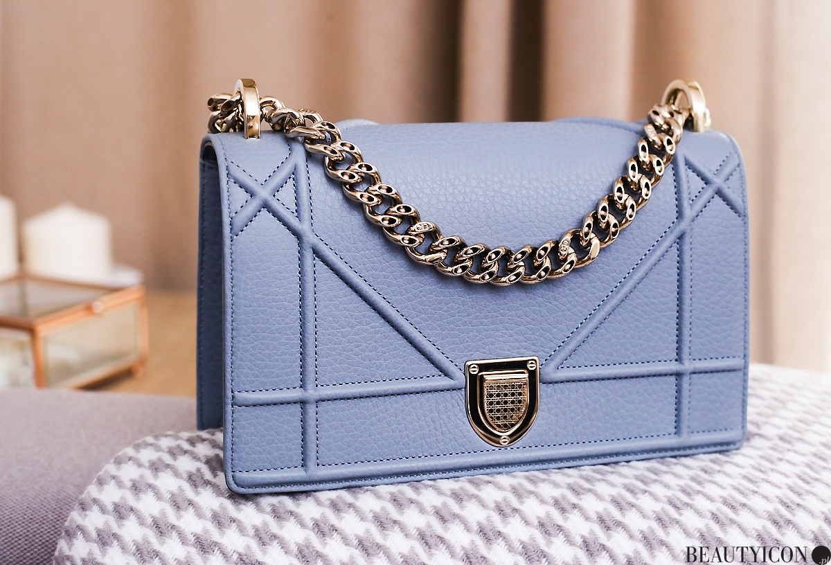 diorama bag cloudy blue, torebka dior