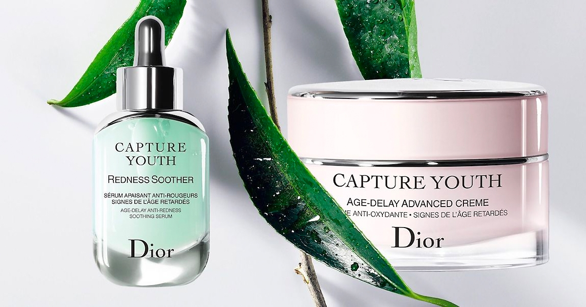Dior serum Redness soother Capture youth