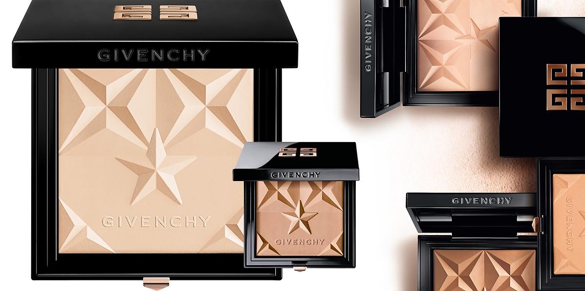 Puder rozświetlający Givenchy, puder brązujący Givenchy