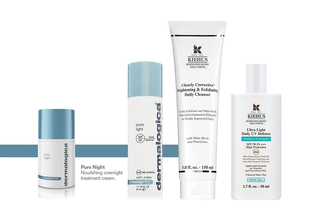 Pielęgnacja Kiehl's, kosmetyki Kiehl's, Kiehl's Clearly Corrective, kosmetyki przebarwienia, Dermalogica Pure Light recenzja