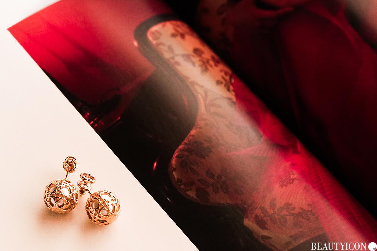 Kolczyki Dior, Dior Secret Cannage