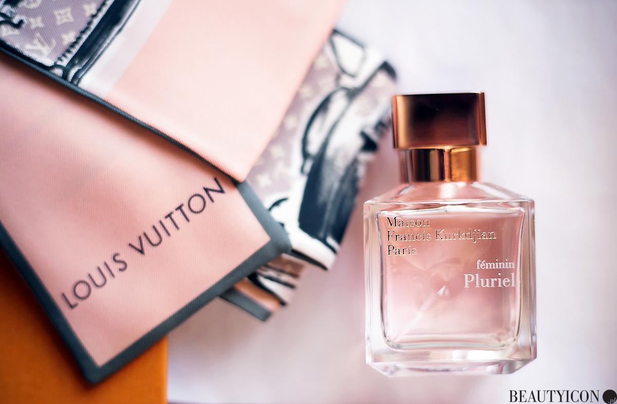 Perfumy Francis Kurkdjian, Francis Kurkdjian Pluriel, apaszka Louis Vuitton