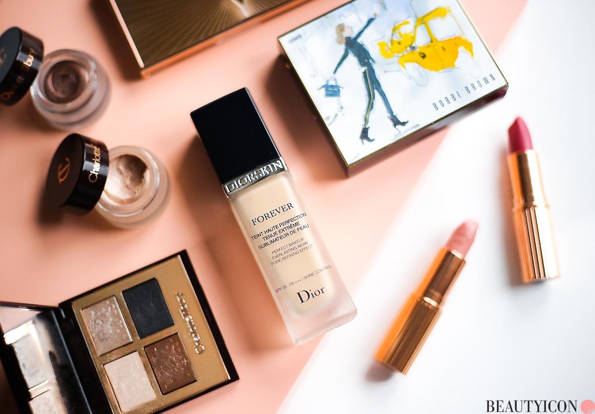 Dior Diorskin Forever, podkład Dior, kosmetyki Charlotte Tilbury