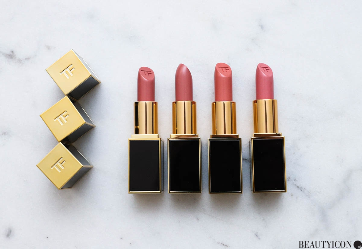 Pomadka Tom Ford Lip Color, Tom Ford Spanish Pink, Tom Ford Pink Dusk, Tom Ford Paper Doll, Tom Ford Bad Lieutant