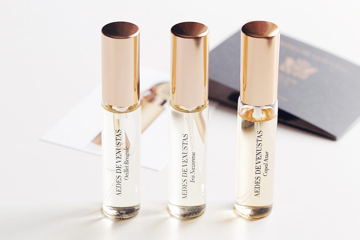 Aedes De Venustas Discovery Set, perfumy niszowe, zapachy niszowe blog