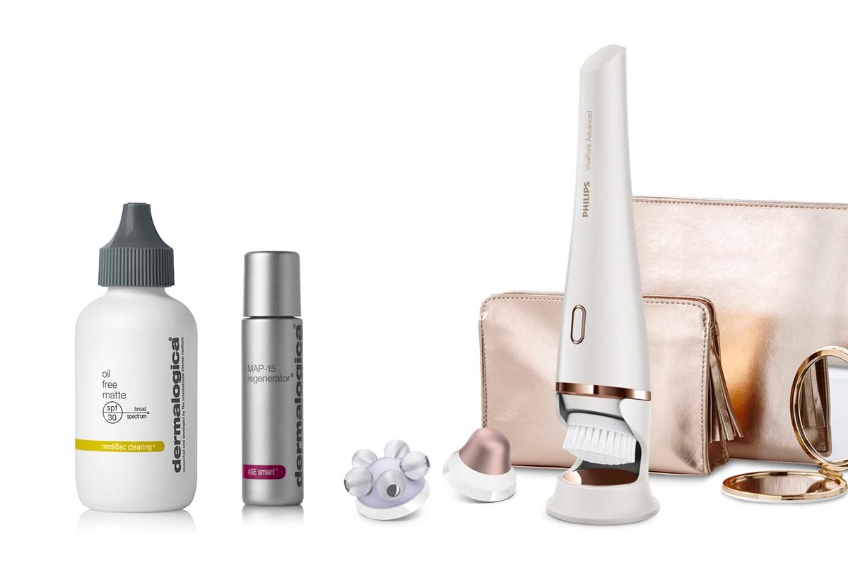 Kosmetyki Dermalogica, szczoteczka do twarzy Philips VisaPure