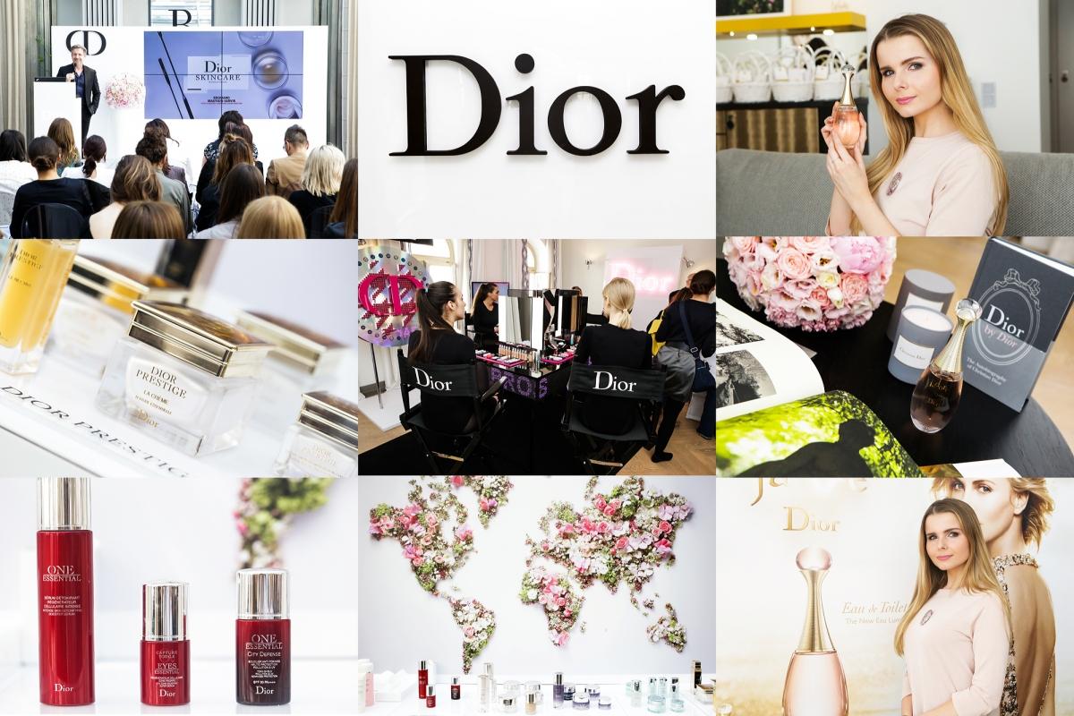 Event Dior, pielęgnacja Dior, kosmetyki Dior