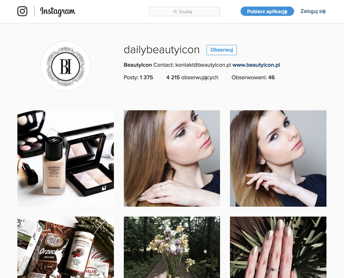 Instagram Beautyicon, Dailybeautyicon