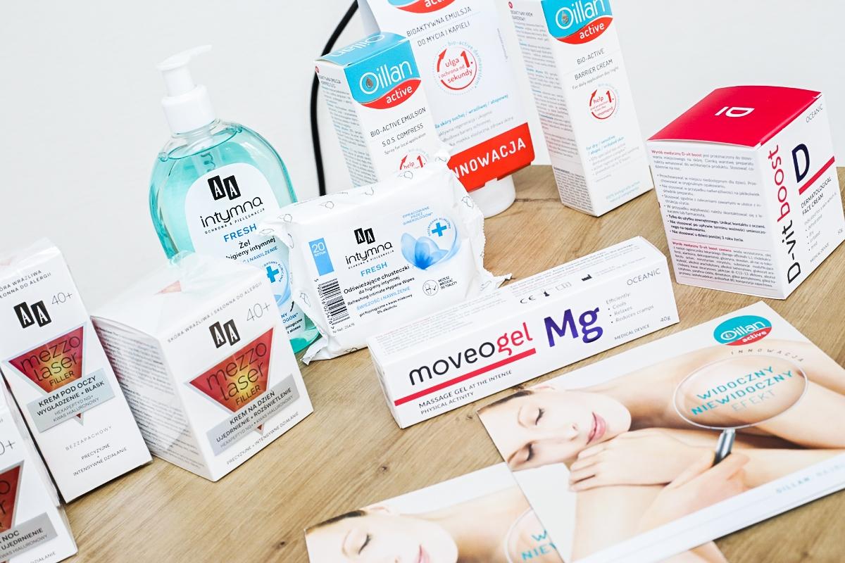 Kosmetyki AA, Hotel Uniejów, Oceanic, Krem z witaminą C, maść z magnezem, Oillan dermokosmetyki