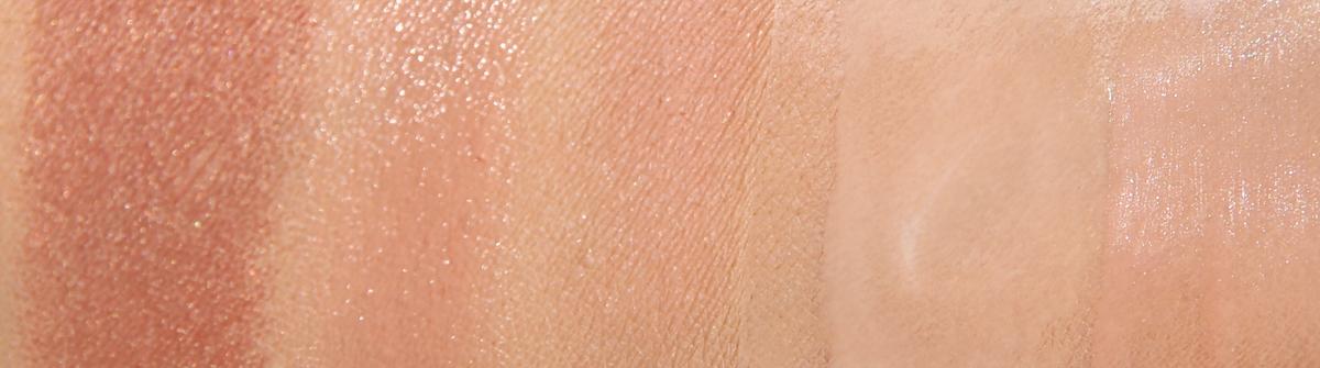 Kolekcja kosmetyków Chanel Les Beiges 2015, Les Beiges Swatch