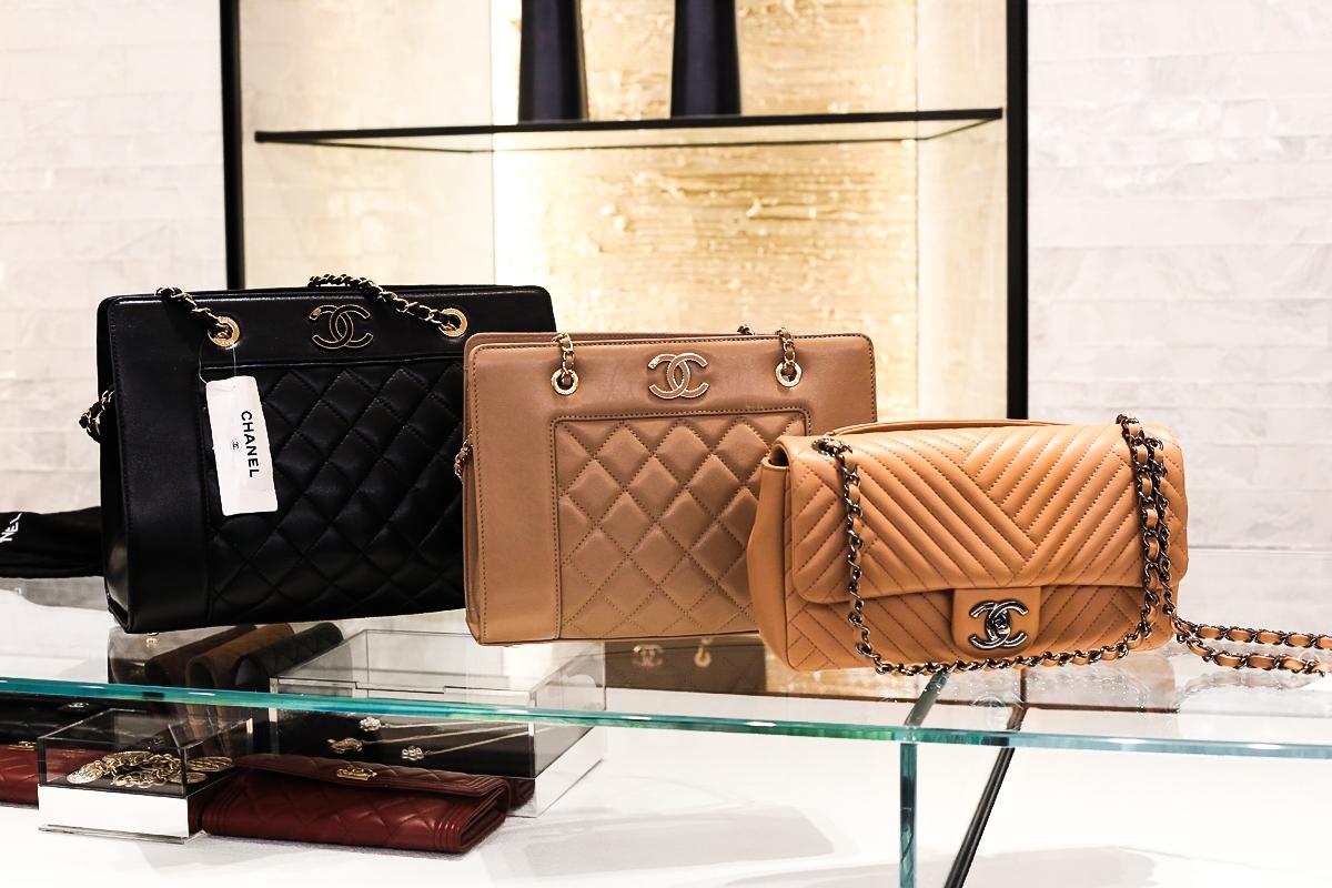 Torebka Chanel, Butik Chanel w Londynie