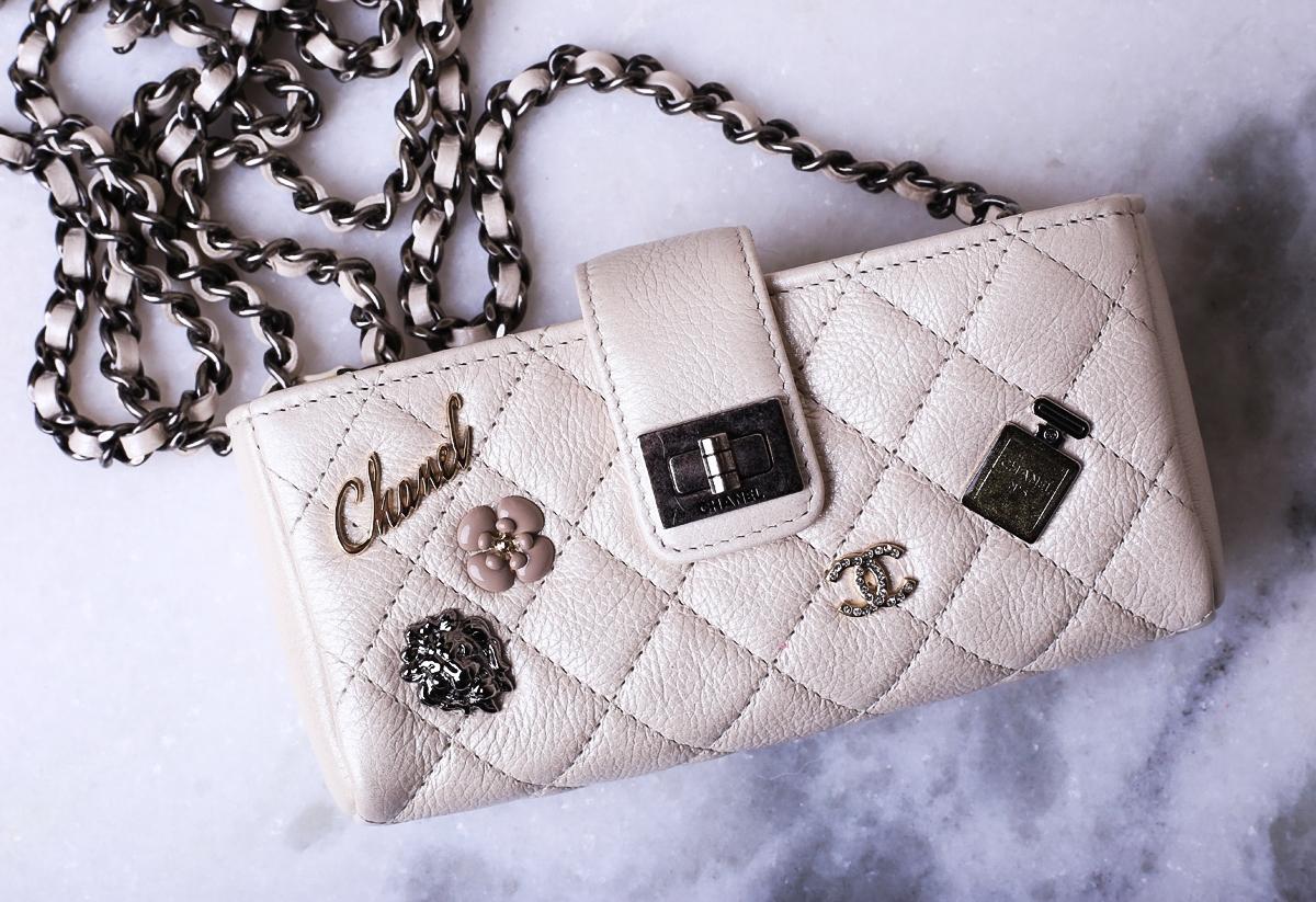 Zakupy w butiku Chanel, butik Chanel Londyn, Torebka Chanel