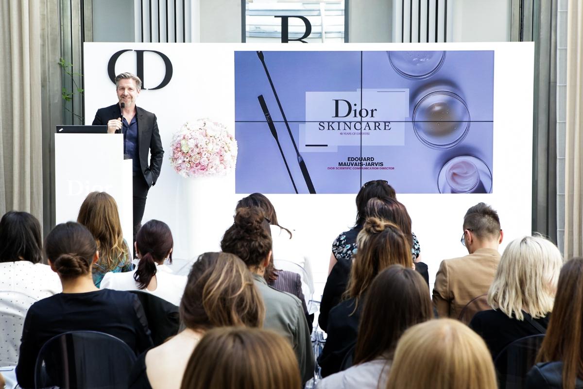 Dior Skincare, pielęgnacja Dior, Dior Event H15, Edouard Mauvis Jarvis