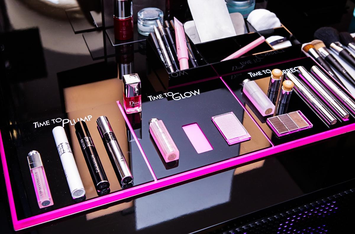 Makijaż Dior, Dior Backstage Pros, Diorshow Mono 2016, Dior Eye Reviver, Diorshow Fusion, Diorliner, Diorshiw Khol