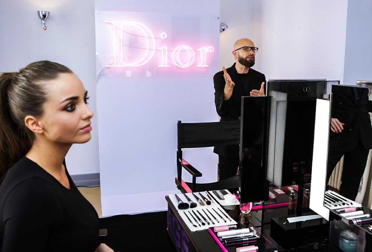 Makijaż Dior, Dior Backstage Pros, Diorshow Mono 2016, Dior Eye Reviver, Diorshow Fusion, Diorliner, Diorshiw Khol, Maciej Słomkowski, Dior Makeup Artist