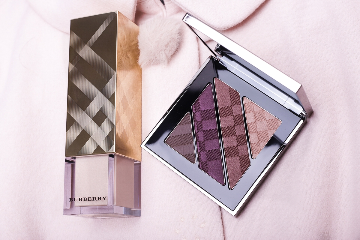 Kosmetyki Burberry, cienie Burberry 06 Plum Pink, makijaż Burberry