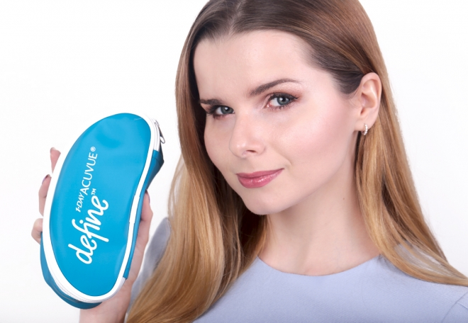 Soczewki 1 Day Acuvue Define Natural Sparkle