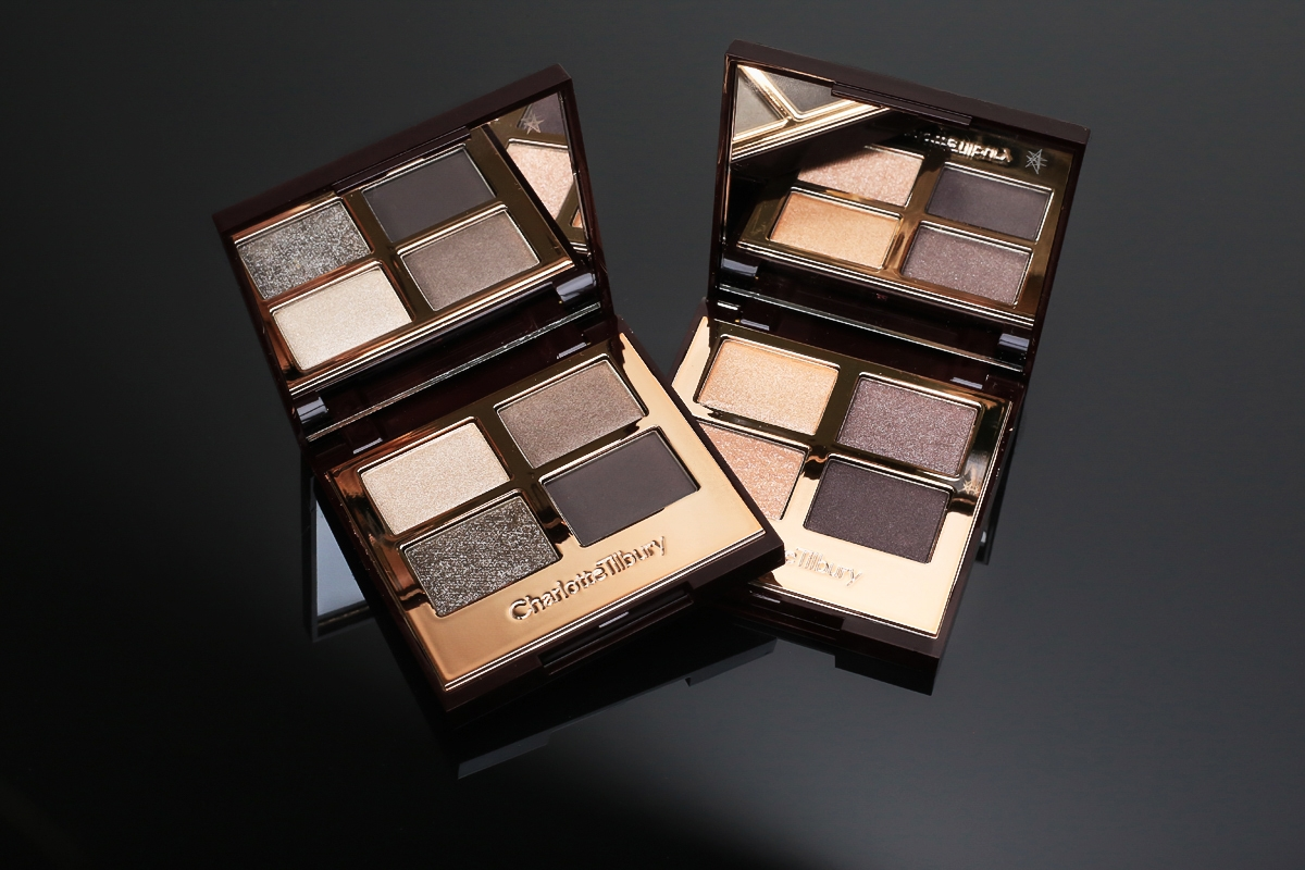 Charlotte Tilbury cienie the uptown girl, the rock chic