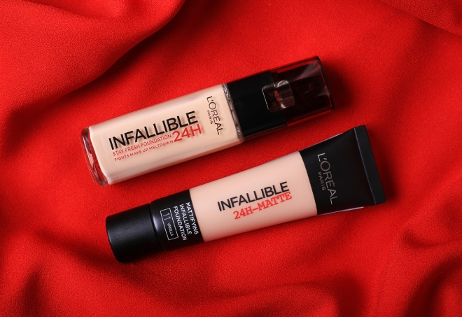 L\'Oreal Paris Infallible 24H Stay Fresh & Matte