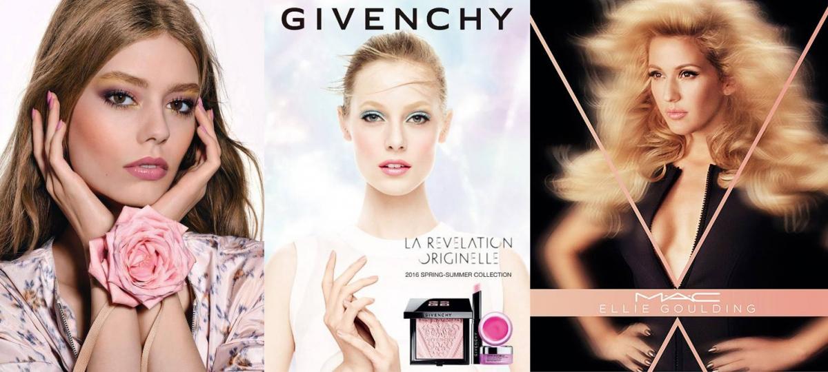 Makijaż Wiosna 2016 Givenchy