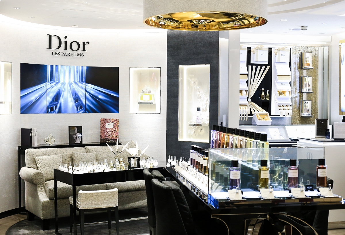 Dior Harrods, Salon de Parfums Harrods, Dior La Collection Privee