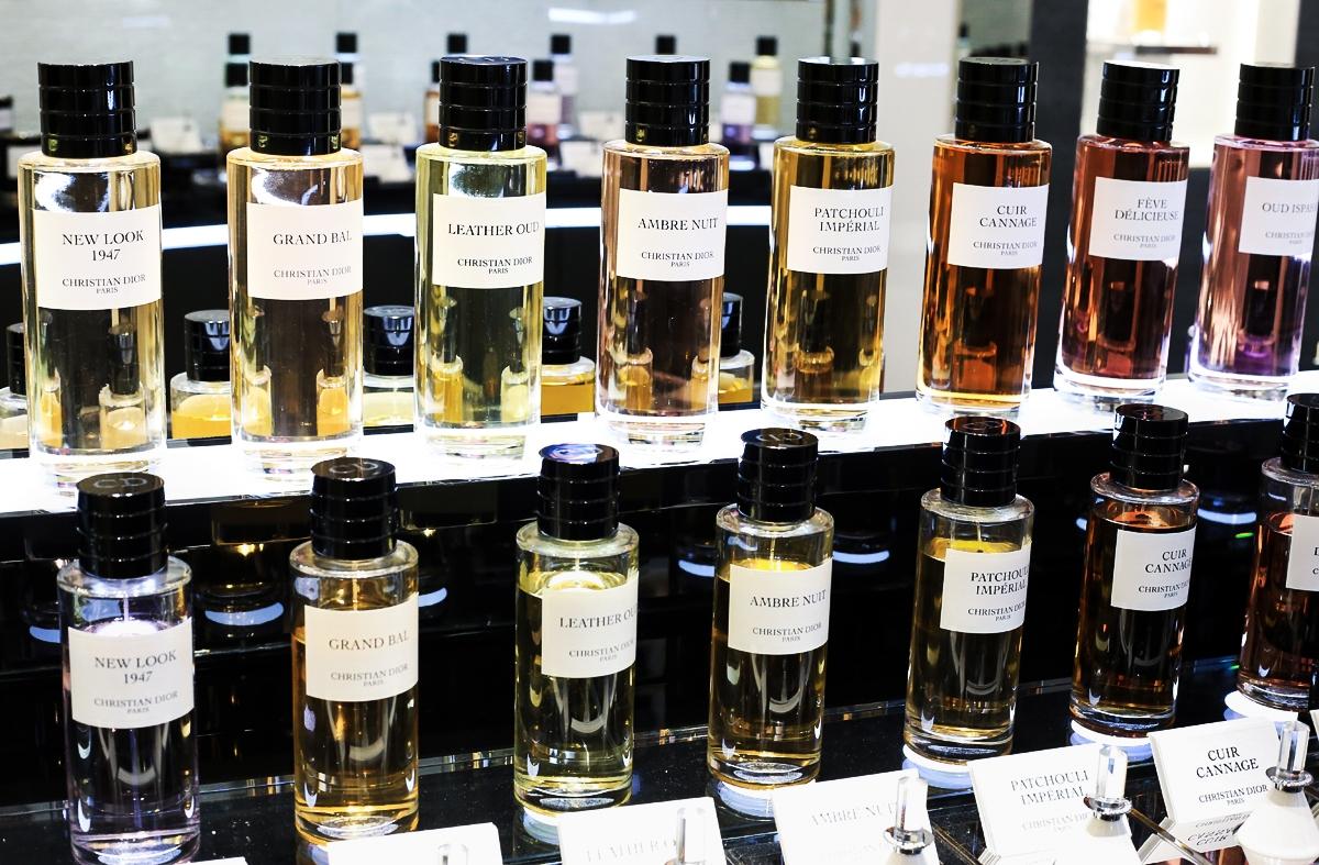 Dior Harrods, Salon de Parfums Harrods, Dior La Collection Privee