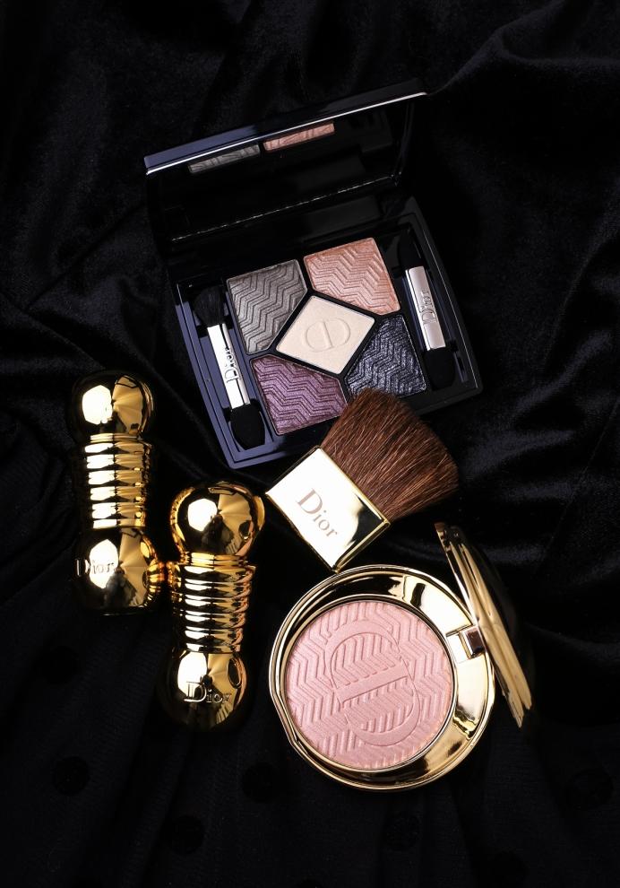 Dior State of Gold 2015, makijaż świąteczny 2015