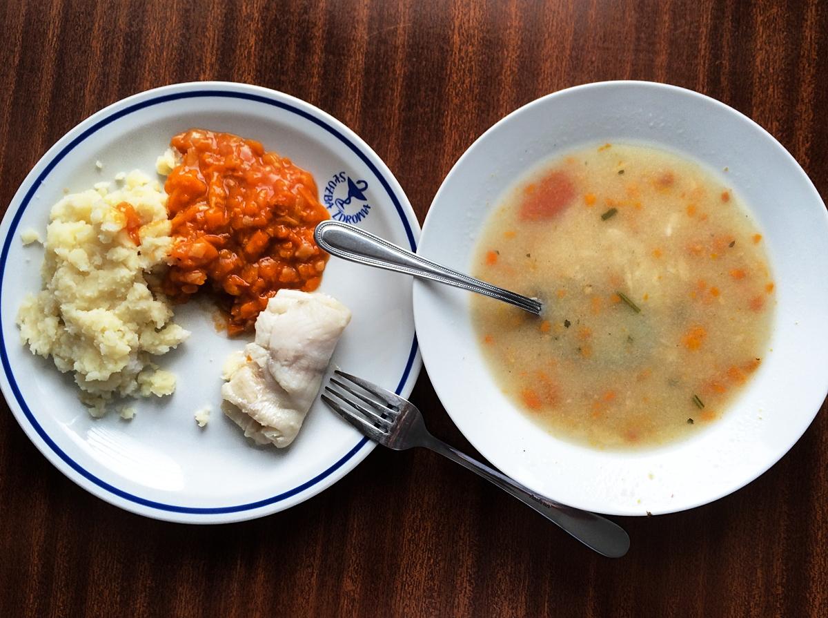 Szpitalny obiad