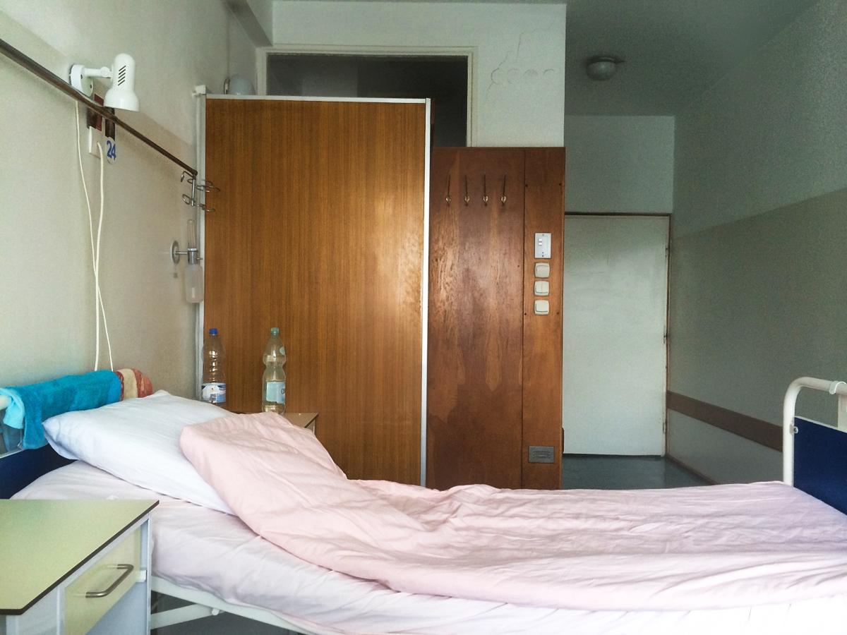 Szpitalny pokój