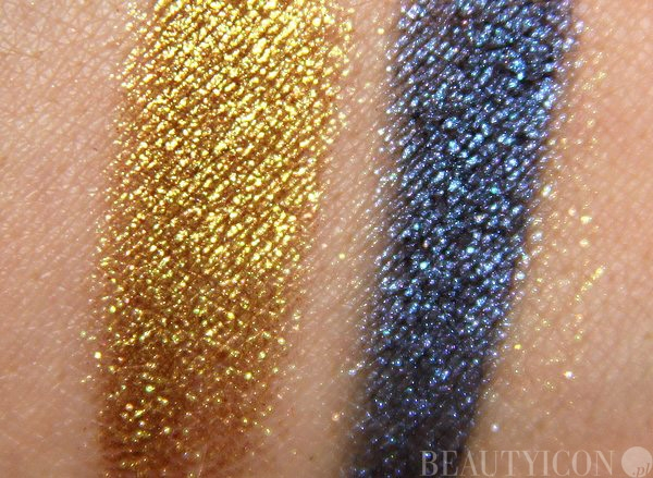 MAC Pigment Old Gold, Naval Blue