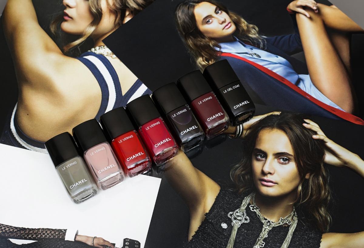 Chanel Le Vernis 2016, Chanel Gel Coat, lakier Chanel