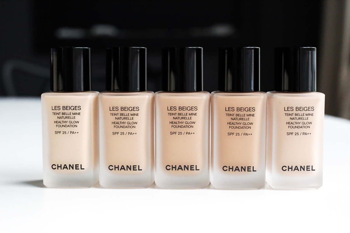 Chanel Les Beiges Healthy Glow Foundation 2016
