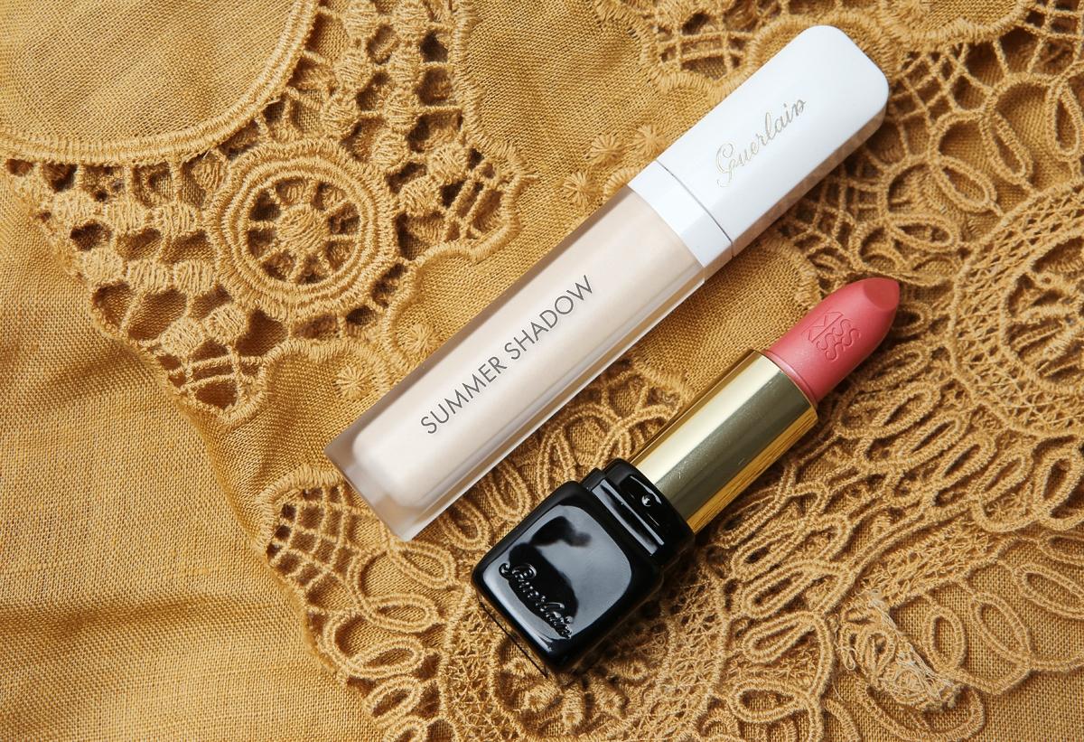 Guerlain My Terracotta 2015, Eye Shadow White Sand, Kiss Kiss Full In Rose