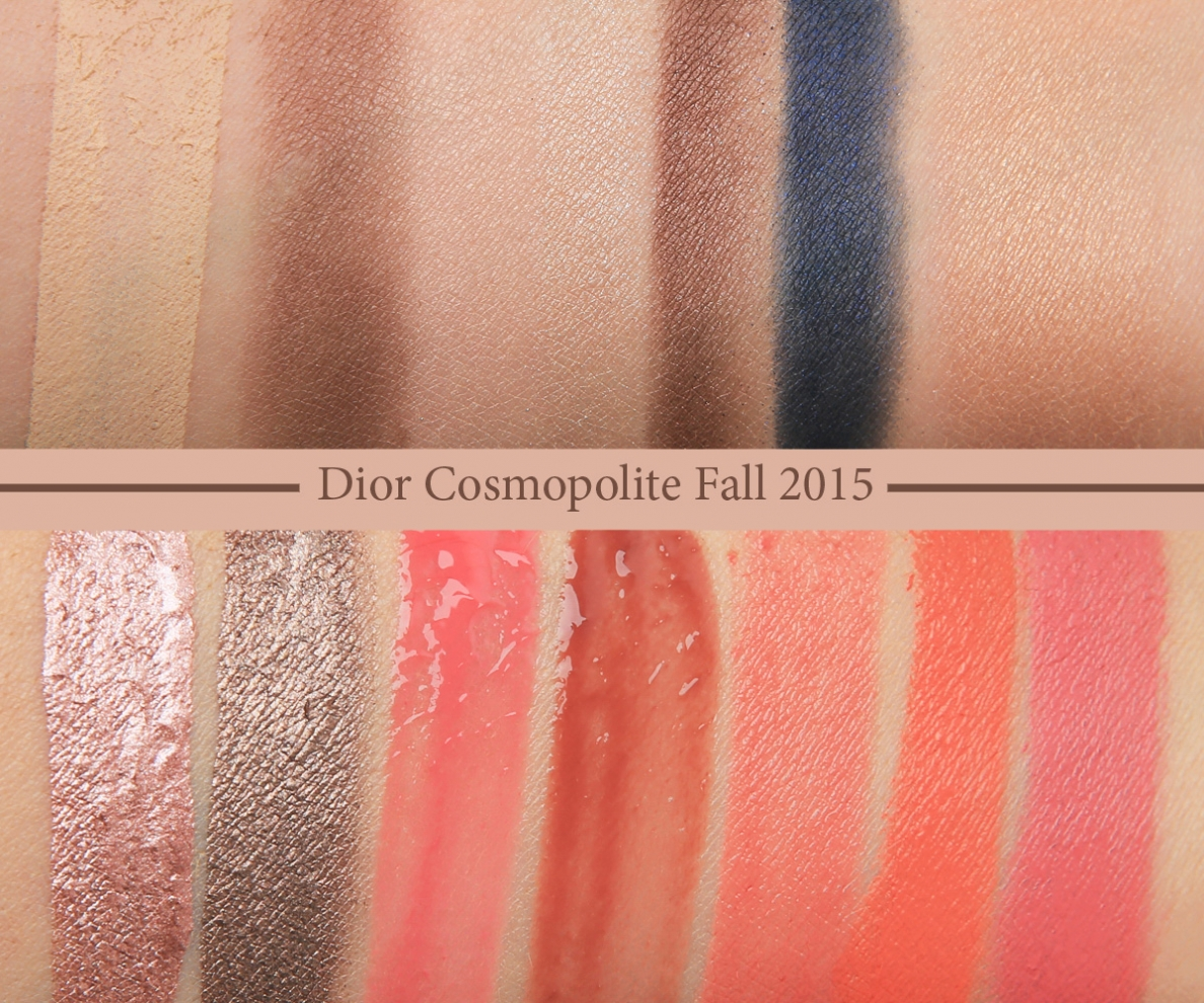 Dior Cosmopolite Fall 2015 Swatch