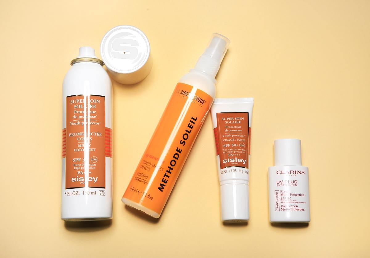 Kosmetyki La Biosthetique, kosmetyki Sisley, filtry Sisley, filtr Clarins UV