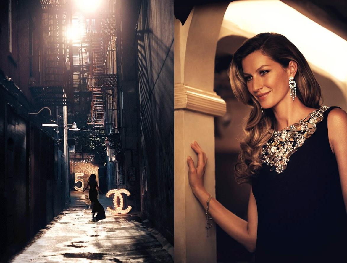 Chanel no5 Giselle Bundchen