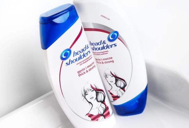 Pielęgnacja przeciwłupieżowa, szampon Head & Shoulders