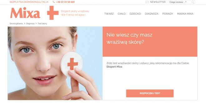 Kosmetyki MIXA, skóra wrażliwa