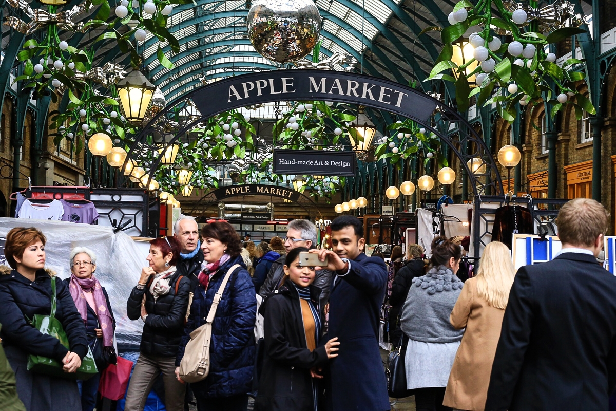 Apple Market Covent Garden Londyn