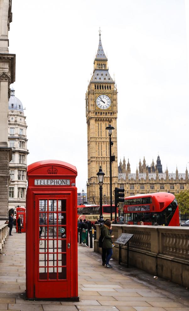 Londyn Big Ben, Westminster