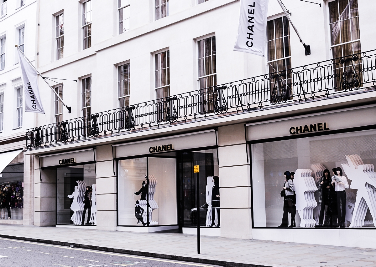 Butik Chanel, Chanel New Bond Street, Chanel Londyn